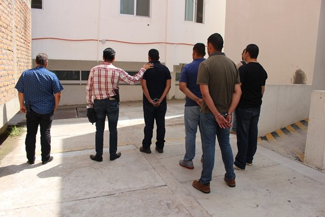 ¡Consignaron a los 3 policías estatales de Aguascalientes por secuestro!