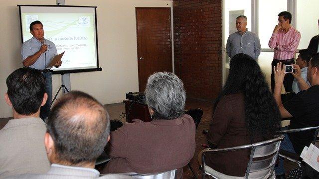 ¡Se llevó a cabo la consulta pública del programa de ordenamiento ecológico local del municipio de Aguascalientes!