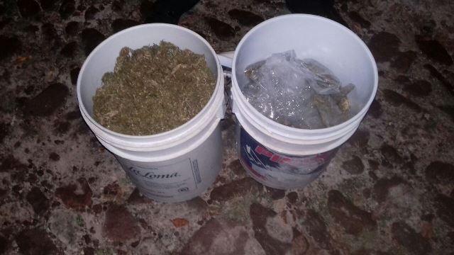 ¡Detuvieron a traficante de drogas con 5 kilos de marihuana en Aguascalientes!