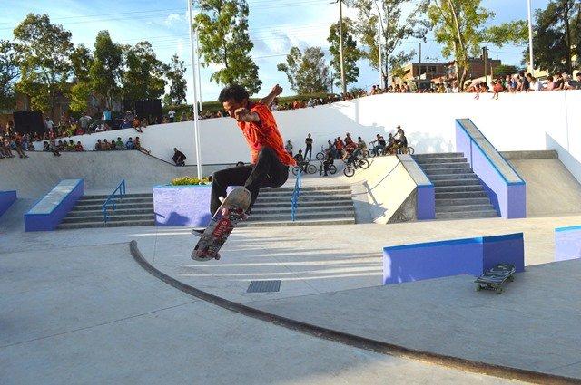 ¡Nueva escuela de Skate Park en Calvillo!