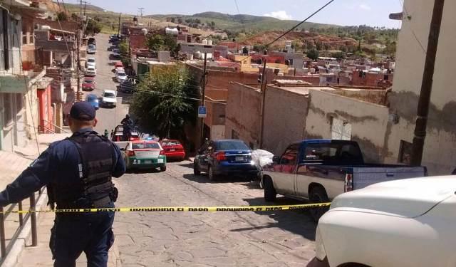 ¡Hombre fue ejecutado a balazos en la vía pública en Zacatecas!