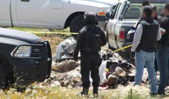 ¡Sujeto fue ejecutado en Vetagrande, Zacatecas, y tirado entre un montón de basura!