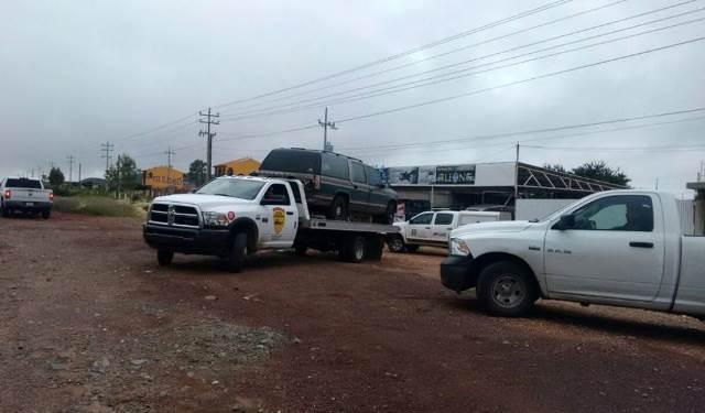 ¡Encontraron 3 ejecutados dentro de una camioneta en Guadalupe, Zacatecas!