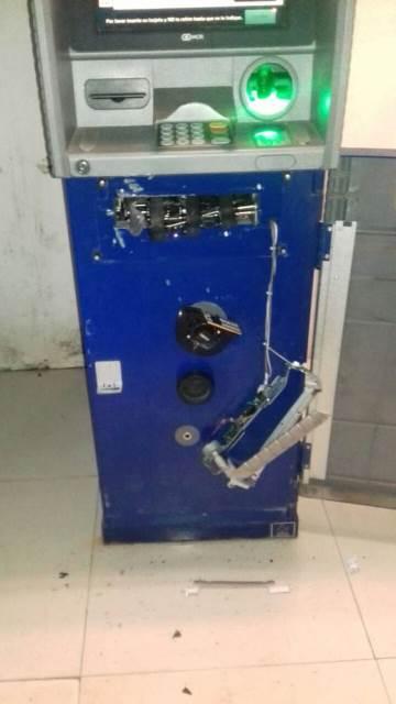 ¡Intentaron saquear un cajero automático en Guadalupe, Zacatecas!