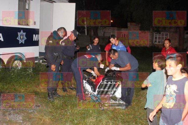¡Adolescente recibió descarga eléctrica en una caseta de Policía en Lagos de Moreno!