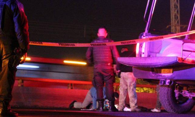 """¡Auto """"fantasma"""" atropelló y destrozó a un hombre en Guadalupe, Zacatecas!"""