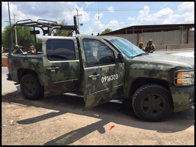 ¡Efectivos de la SEDENA abatieron a 10 delincuentes tras enfrentamiento en Nuevo Laredo!