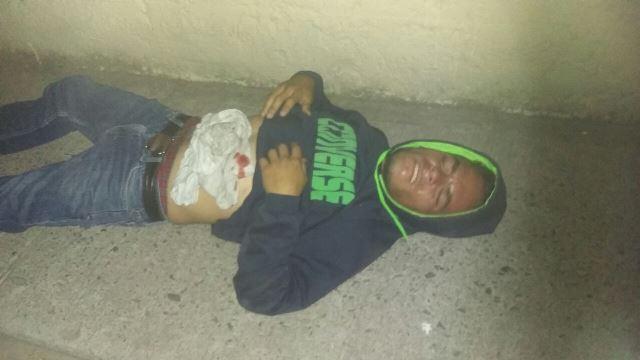 ¡Hombre lesionado tras ser apuñalado en el abdomen en Aguascalientes!
