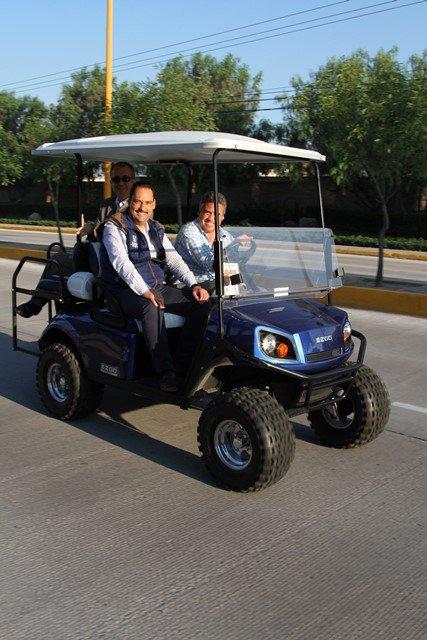 ¡Entregó el alcalde Juan Antonio Martín del Campo renovada vialidad al norponiente de la capital!