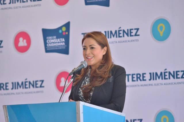 ¡Con planeación mejoraremos la calidad de vida en Aguascalientes: Tere Jiménez!