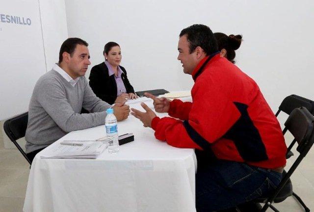 ¡Realiza Alejandro Tello primera audiencia pública en Fresnillo!
