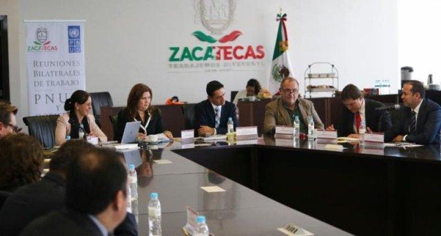 ¡Inicia reunión bilateral entre PNUD y Gobierno del Estado de Zacatecas!