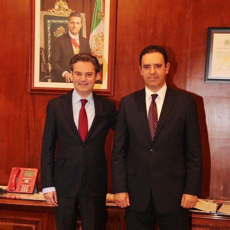 ¡Alejandro Tello plantea al secretario de Educación Pública dificultades financieras del sector educativo en Zacatecas!