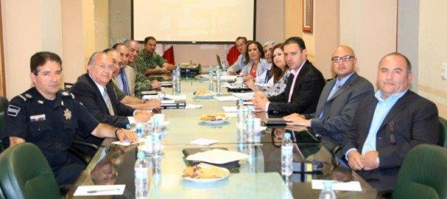 ¡Seguridad pública, un compromiso con los zacatecanos, dice el gobernador Alejandro Tello en primera reunión del GCL!