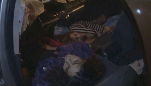 ¡2 jóvenes lesionadas tras fuerte accidente automovilístico en Aguascalientes!