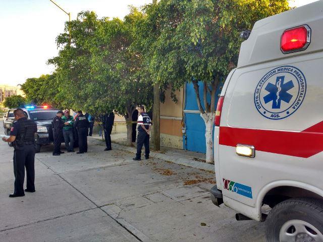 ¡Asesinaron a un hombre de 2 puñaladas en Aguascalientes tras una borrachera!