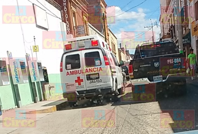 """¡Intentaron ejecutar a balazos a """"El Pozole"""" en Encarnación de Díaz!"""