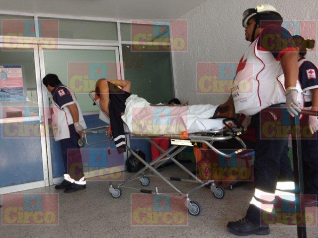 ¡Ebrio casi pierde un ojo tras ser agredido en Lagos de Moreno!