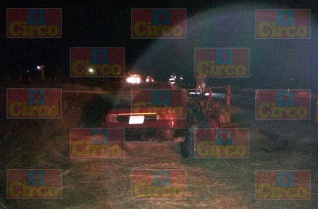¡Joven murió tras un choque frontal entre su auto y un tráiler en Aguascalientes!