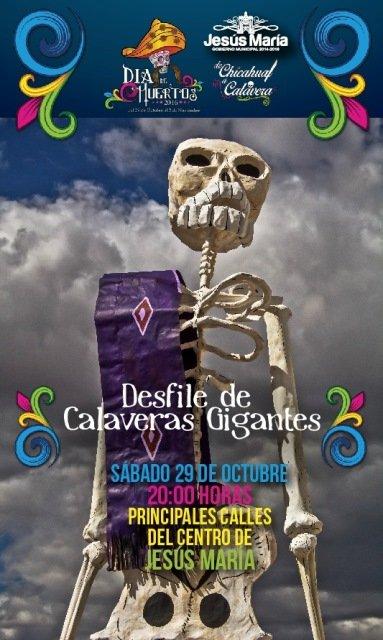 ¡Invita municipio de Jesús María a actividades por Día de Muertos!
