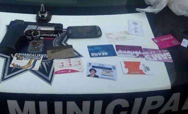 ¡Delincuente con 37 ingresos volvió a ser detenido tras asaltar a una mujer en Aguascalientes!