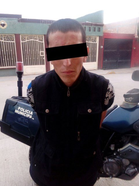 ¡Detuvieron a un robacoches tras breve persecución en Aguascalientes!