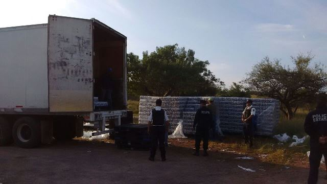 ¡Desmembraron banda de ladrones de trailers que operaba en Zacatecas y Aguascalientes!