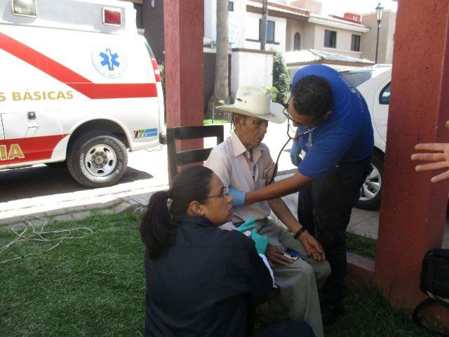¡Adulto mayor se electrocutó con una podadora en Aguascalientes!