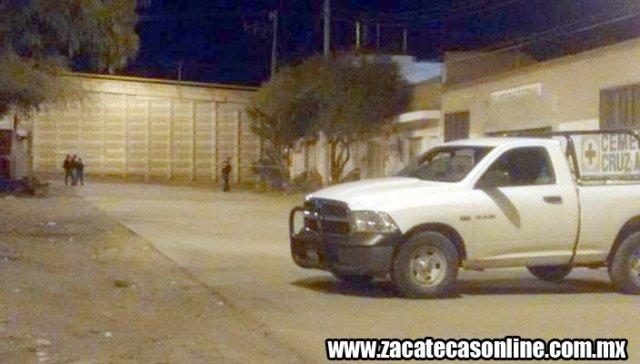 ¡En Guadalupe, Zacatecas, ejecutaron a un joven a balazos en la vía pública!