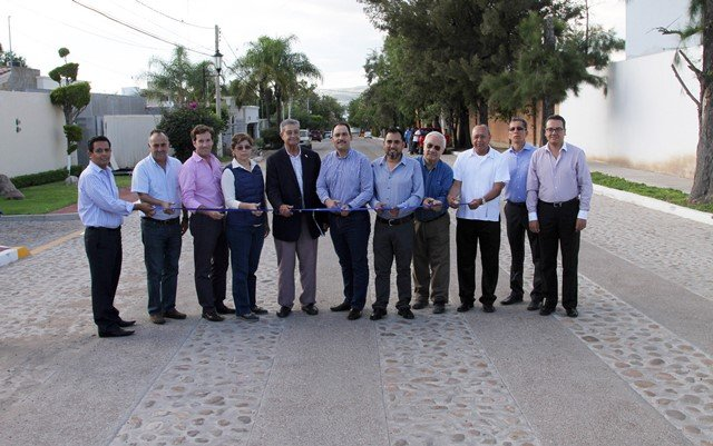¡Inaugura alcalde de la capital nuevas calles al norte de la ciudad!