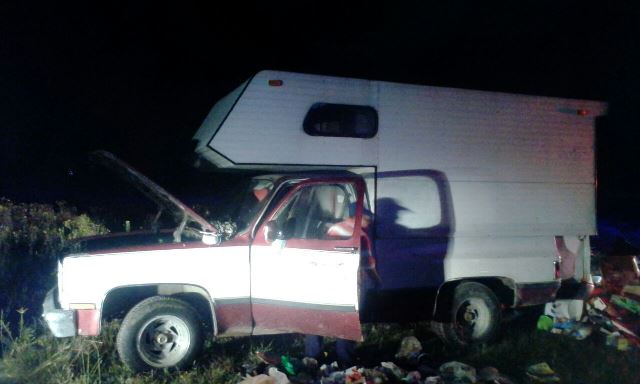 ¡Localizaron abandonada una camioneta robada en Lagos de Moreno y fue devuelta a su dueño!