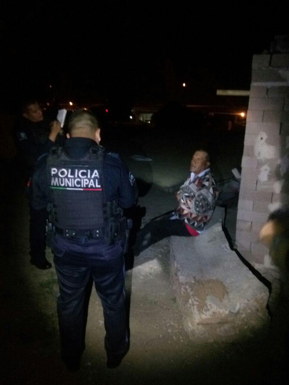 ¡Policías municipales de San Francisco de los Romo frustraron el asalto en una obra!