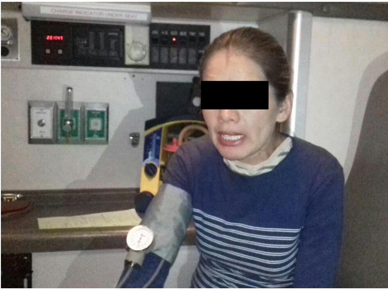 ¡Bomberos estatales frustraron el suicidio de una mujer en Aguascalientes!