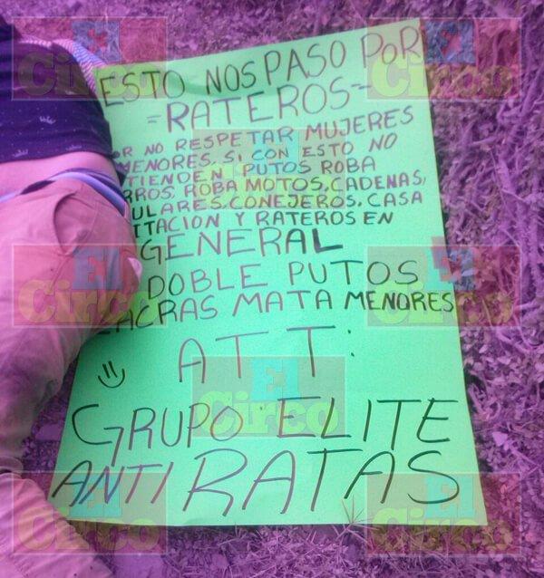 """GALERIA/¡""""Grupo Elite Antiratas"""" mata a delincuente y les mutila las manos a otros cinco en Jalisco!"""