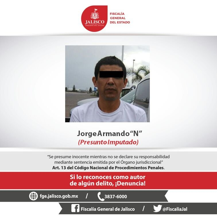 ¡Detuvieron a homicida de policía investigador en Lagos de Moreno!