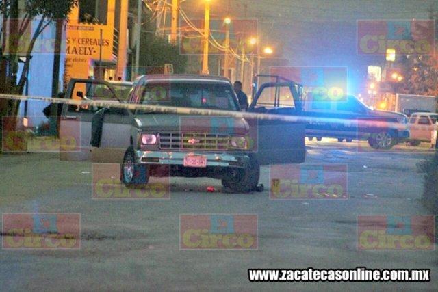 ¡Pareja fue atacada a balazos en Guadalupe, Zacatecas: 1 muerto y 1 lesionado el saldo!