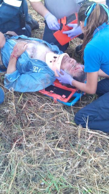 ¡Grave ciclista embestido por un camión repartidor de leche en Aguascalientes!