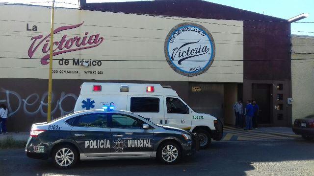 ¡Espantosa muerte de un trabajador en Aguascalientes tras caer de 5 metros de altura!