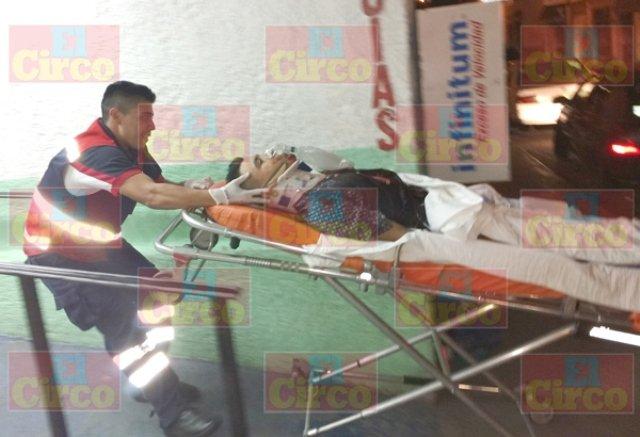 ¡Joven fue herido en el cuello con un arma blanca en Lagos de Moreno!