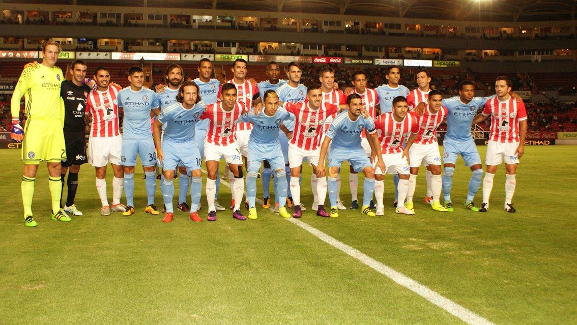 GALERIA/¡Necaxa se impone 2 goles a uno al New York City en Aguascalientes!