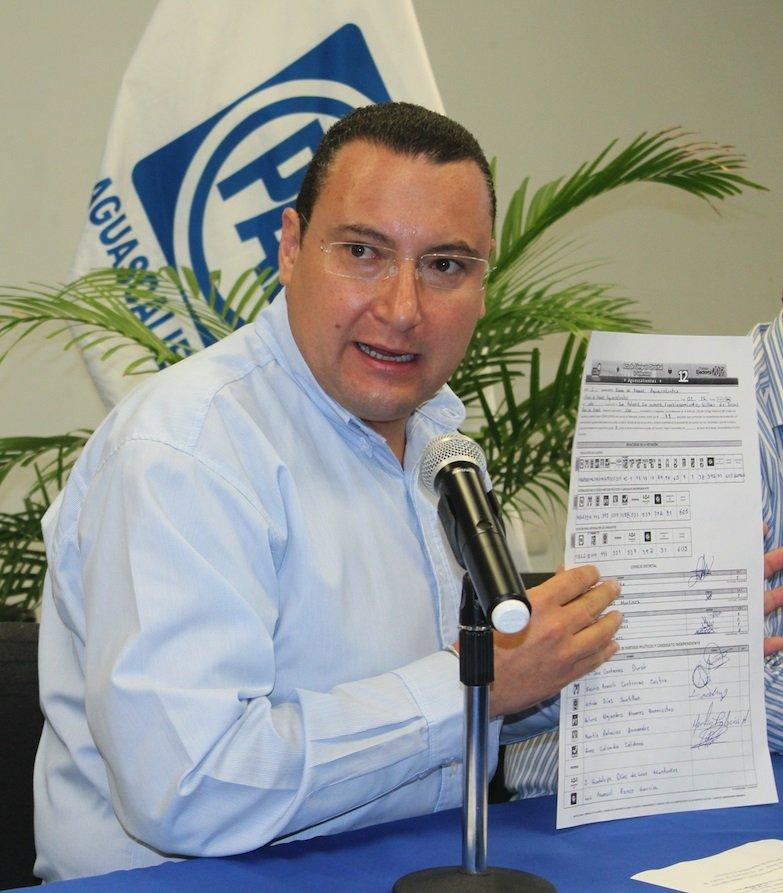 ¡No representa una alteración en el resultado de la elección a gobernador error en cómputo de votos: PAN!