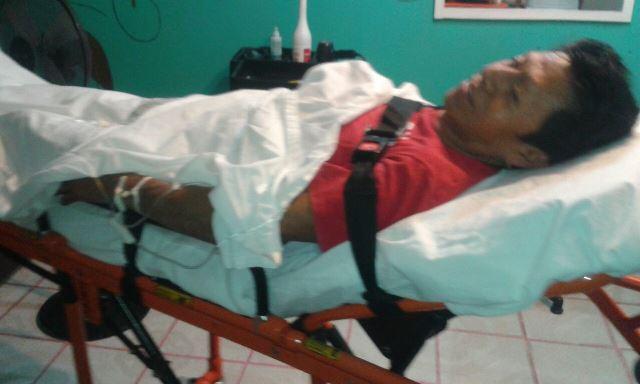 ¡Hombre fue herido apuñalado por sus compañeros de parranda en Aguascalientes!