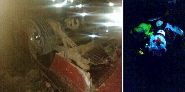 ¡1 muerto y 1 lesionado dejó la volcadura de una camioneta en Zacatecas!