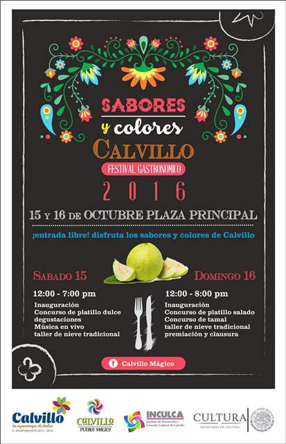 ¡Calvillo invita a su festival #ColoresySabores!