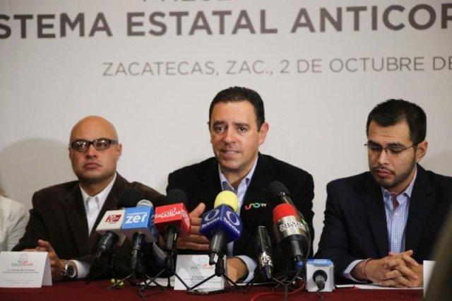 ¡Alejandro Tello presentó el Sistema Estatal Anticorrupción!