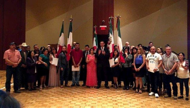 ¡Atiende Alejandro Tello a integrantes de la Federación de Clubes de Migrantes en Atlanta, Georgia!