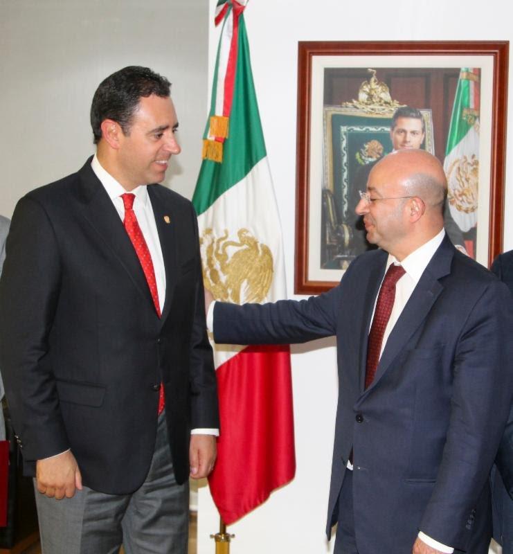 ¡Alejandro Tello y Comisionado Nacional de Seguridad acuerdan reforzar seguridad de Zacatecas!