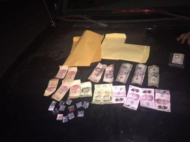 ¡Detienen autoridades a un sujeto en posesión de estupefacientes en La Zacatecana!