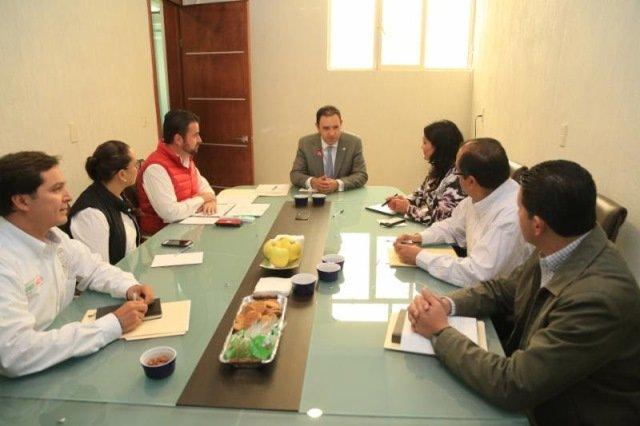 ¡Se compromete Alejandro Tello a trabajar coordinadamente con Fresnillo, Enrique Estrada, Villa de Cos y Morelos!