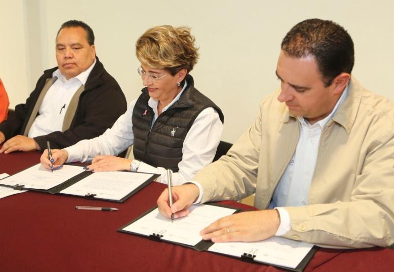 ¡Firma gobernador Alejandro Tello convenio para atender a 79 mil personas con discapacidad!